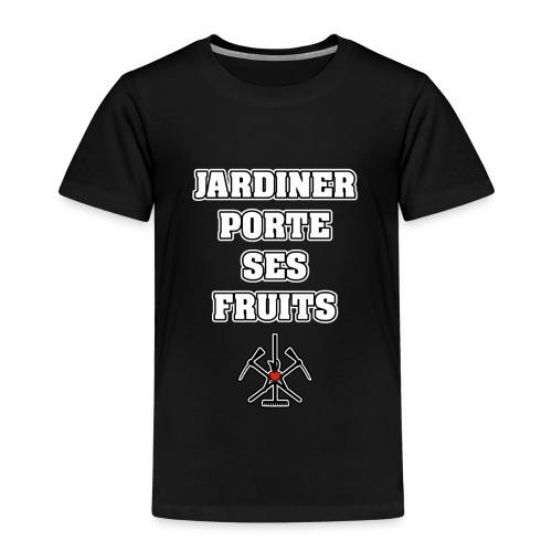 JARDINER PORTE SES FRUITS - JEUX DE MOTS - T-shirt Premium Enfant