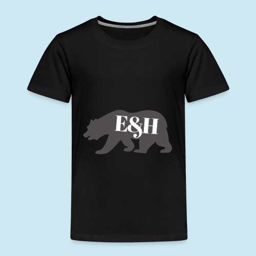 Wild bear design ~ E&H Woodland Collection - Kids' Premium T-Shirt