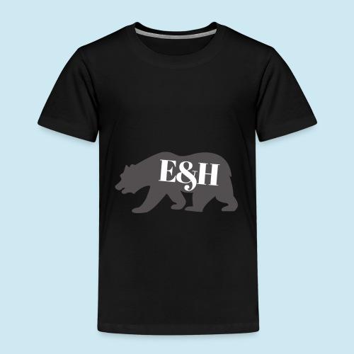 Wild bear design ~ E&H Woodland Collection - Kids' Premium T-Shirt