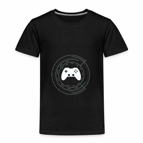 KaminRot Logo Weiß - Kinder Premium T-Shirt