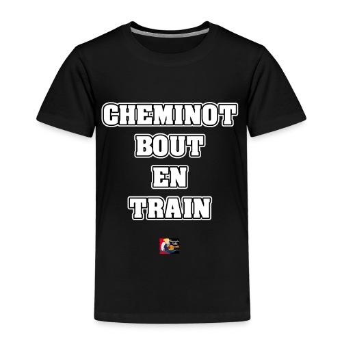 CHEMINOT BOUT-EN-TRAIN - JEUX DE MOTS - T-shirt Premium Enfant