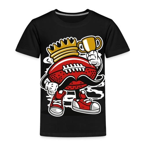 Football King - Kinder Premium T-Shirt