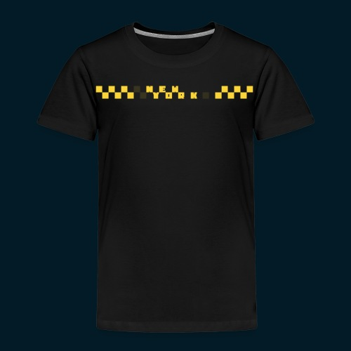 NEW YORK CHECK Y W sec - Kinderen Premium T-shirt