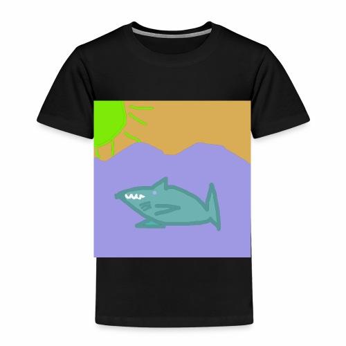 Haj i vatten - Premium-T-shirt barn