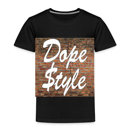 Dope Style - Maglietta Premium per bambini
