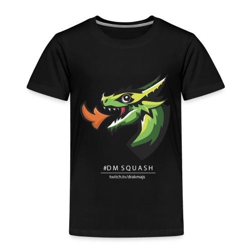 Draken med vit text - Premium-T-shirt barn