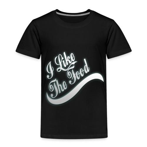 I like the food - Camiseta premium niño