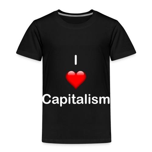 I Love Capitalisum - Kinder Premium T-Shirt