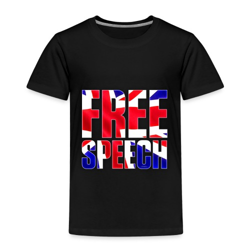 Free Speech UK Alt.1 - Kids' Premium T-Shirt