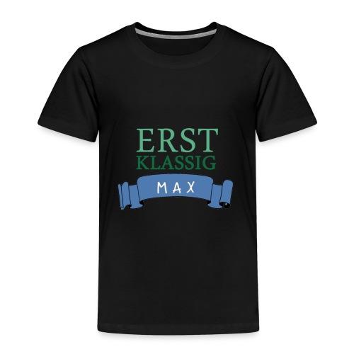 Schulkind Max - Kinder Premium T-Shirt