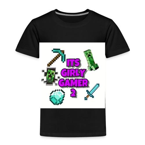 ItsGG2 Logo - Premium T-skjorte for barn