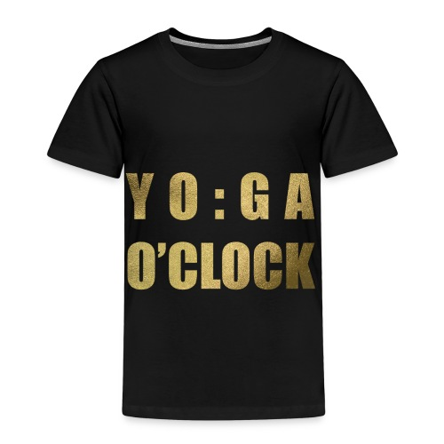 YOGA o'clock - Kinderen Premium T-shirt