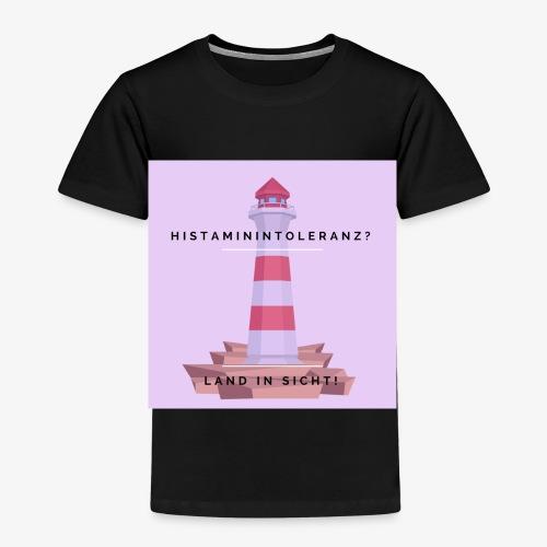 Histaminintoleranz – Land in Sicht (lila) - Kinder Premium T-Shirt