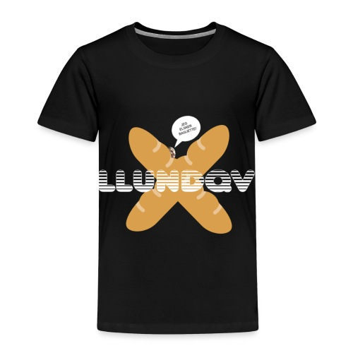 JEG ELSKER BAGUETTE! - Børne premium T-shirt