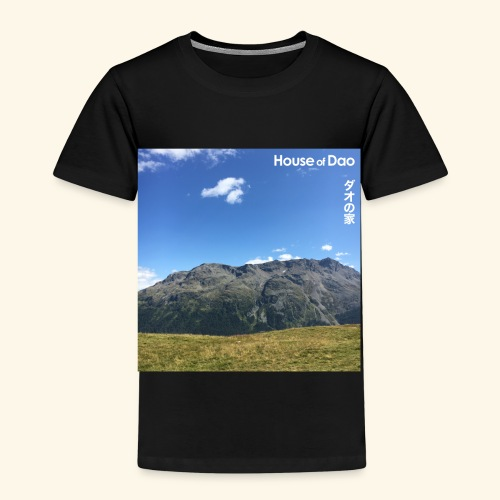 House of Dao - Top of Mountain View - Kinder Premium T-Shirt
