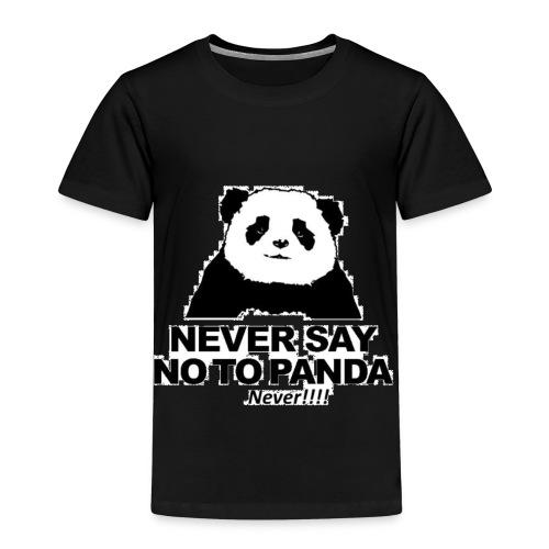 altijd geen Nee zeggen tegen een panda - Kinderen Premium T-shirt