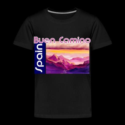 Spain: Buen Camino. Jakobsweg - Kinder Premium T-Shirt