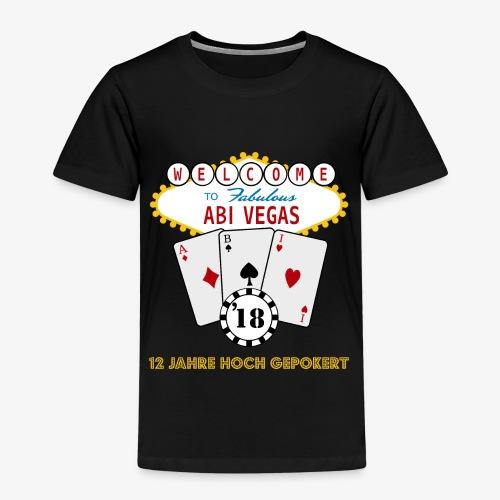Abipullover Abi Vegas - Kinder Premium T-Shirt