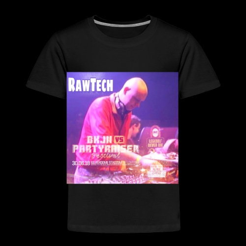 Rawtech @ BKJN vs Partyraiser festival 2018 - Kinderen Premium T-shirt