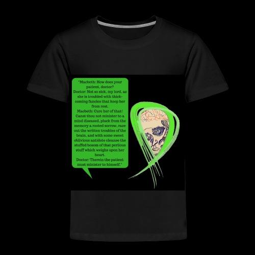 Macbeth Mental health awareness - Kids' Premium T-Shirt