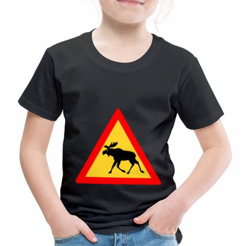 Tjurig älg - Premium-T-shirt barn