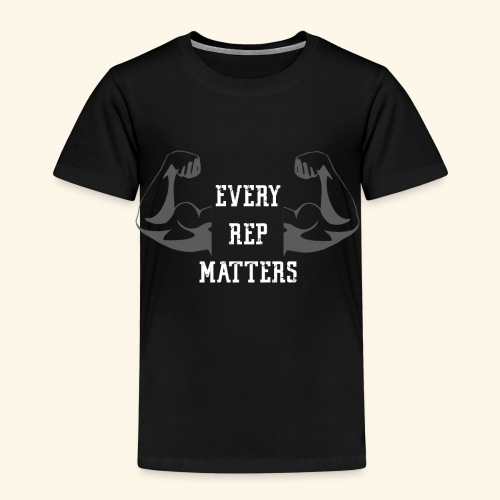 Gym Fitness Shirt for men and women – Every Rep - Kinder Premium T-Shirt