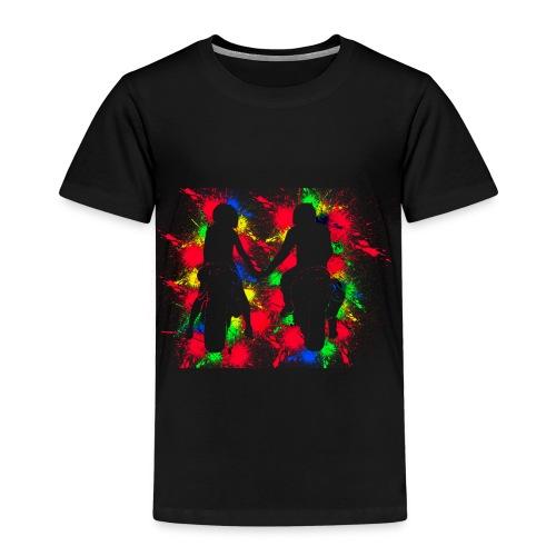 Motorradfahrer Paar - Kinder Premium T-Shirt