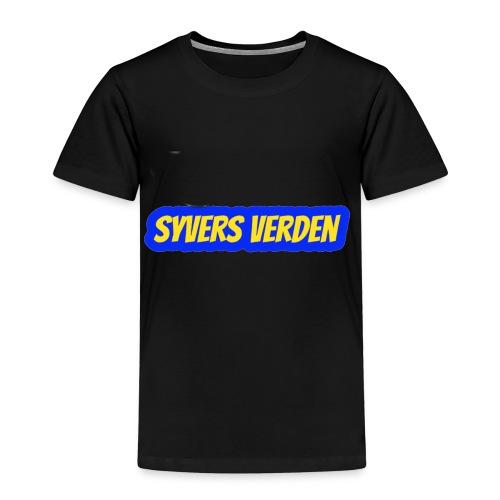 syvers verden logo - Premium T-skjorte for barn