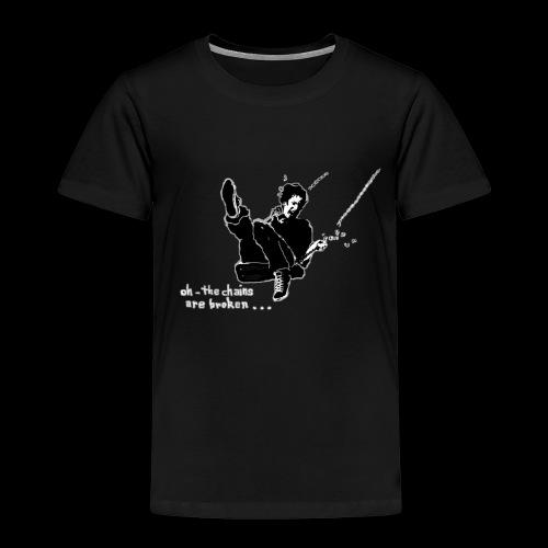 Auf der Schaukel oder oh the chains are broken - Kinder Premium T-Shirt