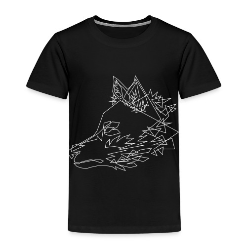 Graphic Wolf - Kinderen Premium T-shirt