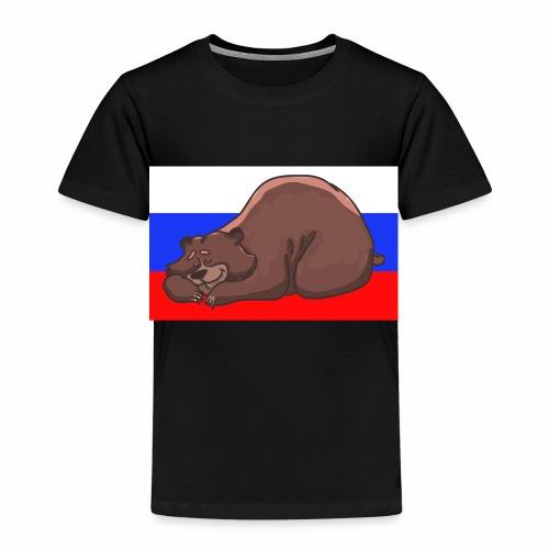 Russian Bear - Kinder Premium T-Shirt
