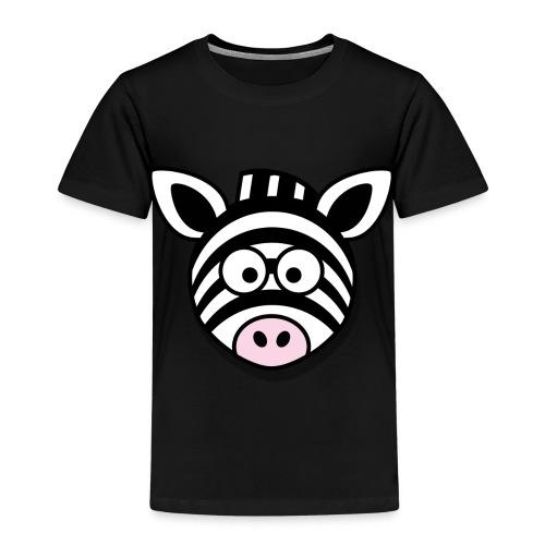 Lustiges Zebra Geschenk Idee Geburtstag - Kinder Premium T-Shirt