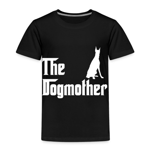 The Dogmother white dobermann - Kinder Premium T-Shirt