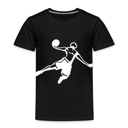 Basketball Dunk Player - Maglietta Premium per bambini