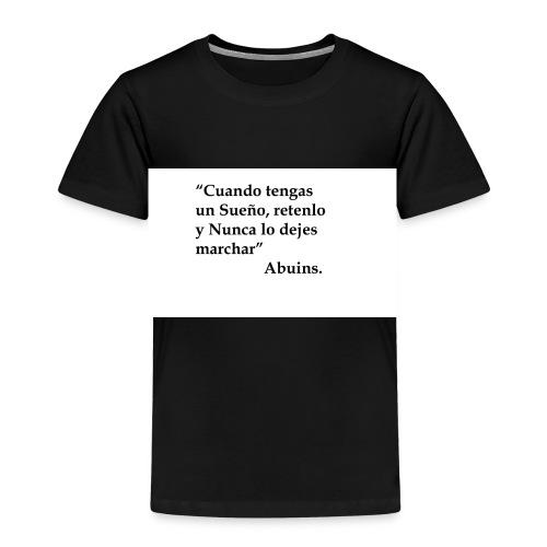Frase camiseta Abuins 2 editado 1 - Camiseta premium niño