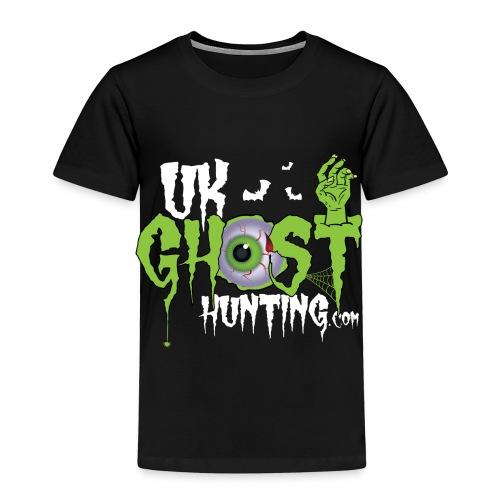 UK Ghost Hunting Eyball Logo - Kids' Premium T-Shirt