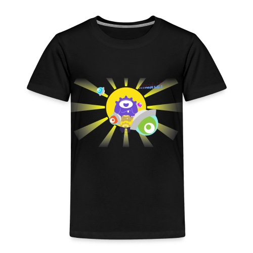 SmashET game intro design - Kids' Premium T-Shirt