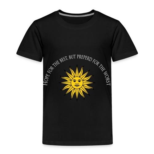 Håp i sola - Premium T-skjorte for barn
