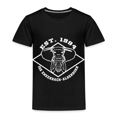 Elefant Logo weiss - Kinder Premium T-Shirt