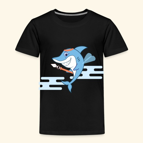 The Shark bodyguard - Kids' Premium T-Shirt