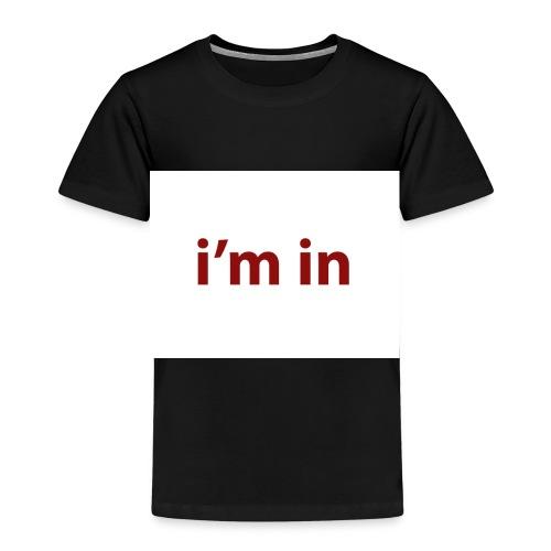 i m in - Camiseta premium niño