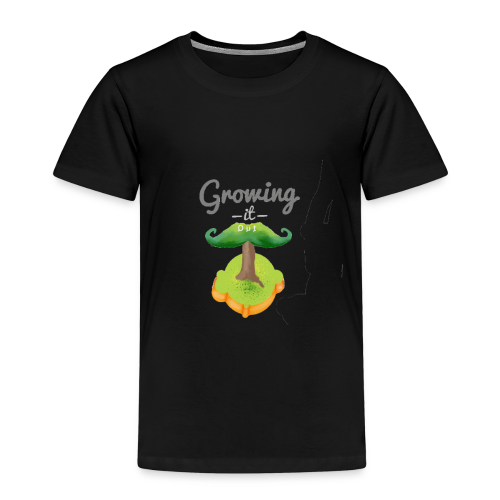 Moustache tree - Kids' Premium T-Shirt