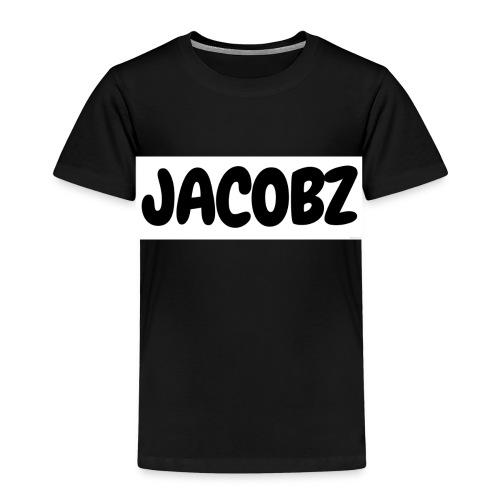 Jacobz Logo Design for black merch - Kids' Premium T-Shirt