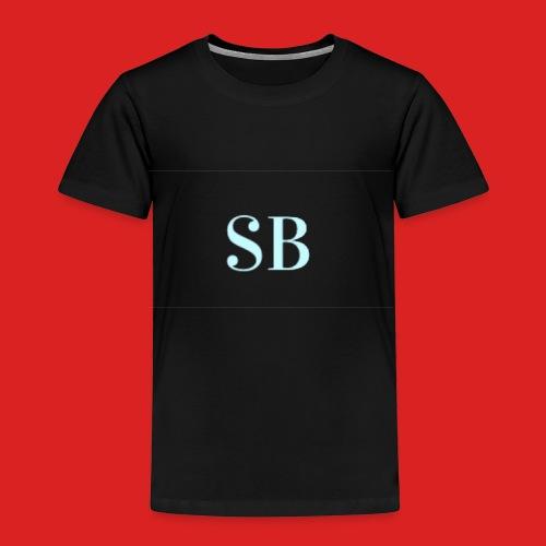 Sb blue logo merch - Kids' Premium T-Shirt