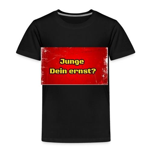 Junge Dein Ernst? AlleineShop.de - Kinder Premium T-Shirt