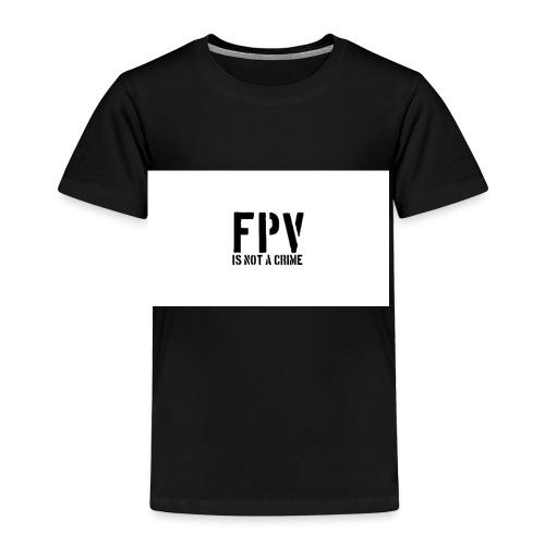 fpv is not a crime - Kinder Premium T-Shirt