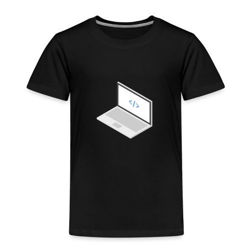 Laptop - Kinder Premium T-Shirt