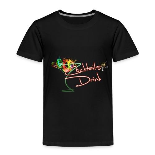 cocktailsdrink shirt - Camiseta premium niño
