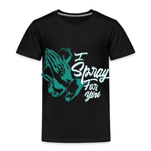 graffiti street tag religion spray hip hop banksy - T-shirt Premium Enfant