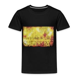La planète souffre - T-shirt Premium Enfant